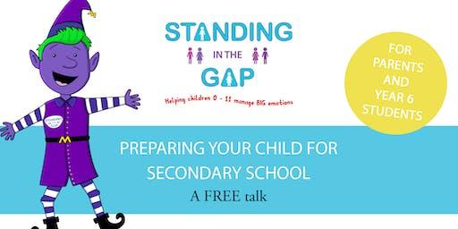 Preparing your child for Secondary School- Bloxham talk