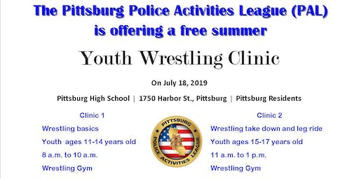 PAL Wrestling Clinic 2