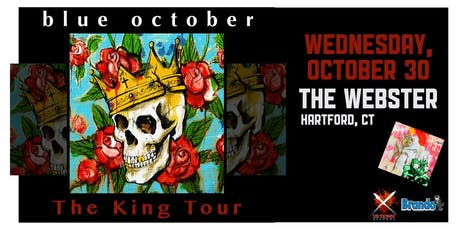 BLUE OCTOBER: THE KING TOUR tickets