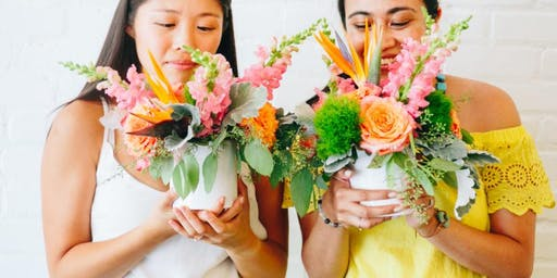 Wine + Blooms on Wednesday at Leela's Wine Bar
