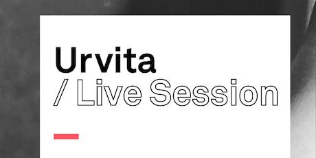 URVITA LIVE SESSION entradas