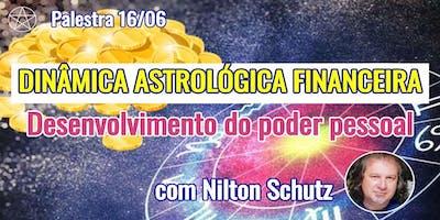 Nilton Schutz - Palestra Dinâmica Astrológica Financeira