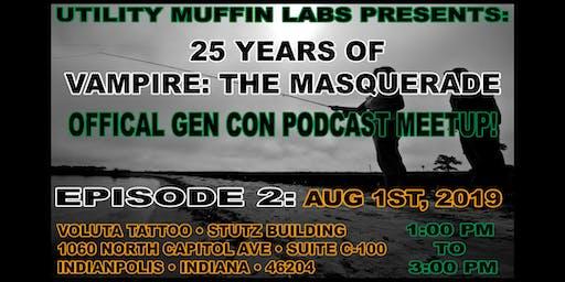 25 Years of Vampire: the Masquerade Podcast Meetup
