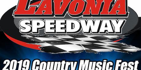 Lavonia Speedway Music Fest 2019 tickets