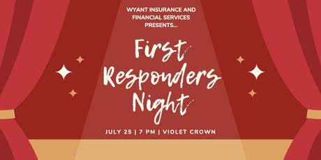 First Responders Night tickets