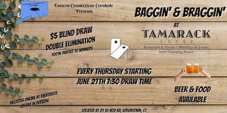 Baggin' and Braggin' at the Tamarack Lodge tickets