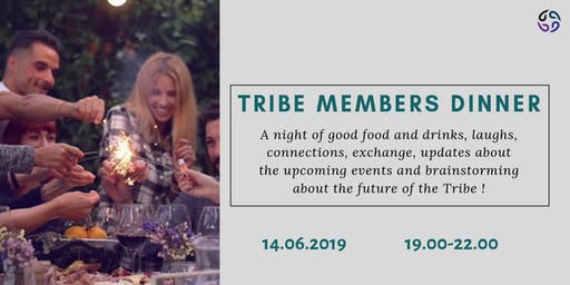 Trainers, coaches and consultants dinner. Tribe members only