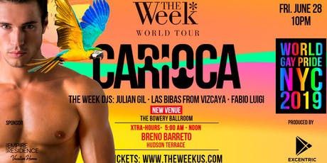 Carioca Friday Night - The Week @ World Gay Pride tickets