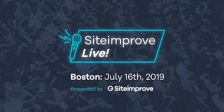 Siteimprove Live - Boston tickets