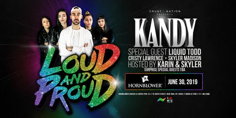 Loud & Proud Boat Party Yacht Cruise NYC - WORLD PRIDE 2019 tickets