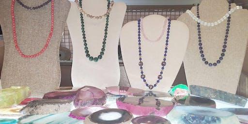 Create-Your-Own Semi Precious Stone Necklace