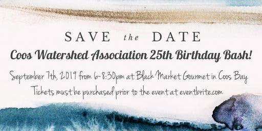 Coos Watershed Association 25th Birthday Bash