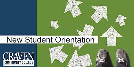 Craven Community College-CCP Orientation (High School Students) tickets