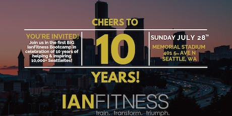 IanFitness 10 Year Anniversary Celebration Workout  tickets