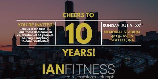 IanFitness 10 Year Anniversary Celebration Workout