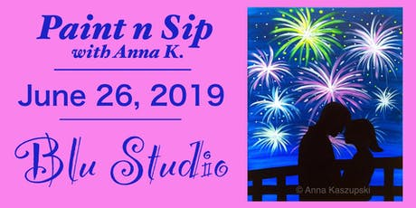 Paint n Sip- Fireworks tickets