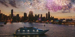 AFTER THE FIRE WORKS YACHT PARTY music by DJ HOT ROD