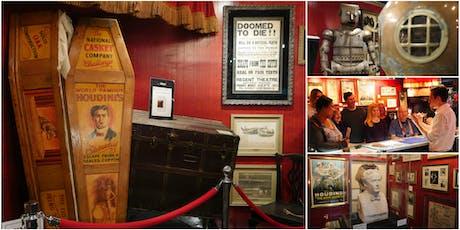 Magic Tour & Demo @ Fantasma Magic's Harry Houdini Museum tickets