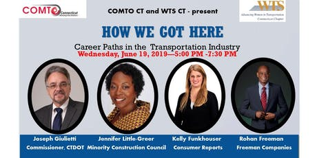 How We Got Here -  Career Paths in the Transportation Industry tickets
