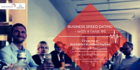 Business Speed Dating - with a Twist #6 Tickets