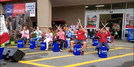 Free Bucket Drumming Workshop- Make Music Day