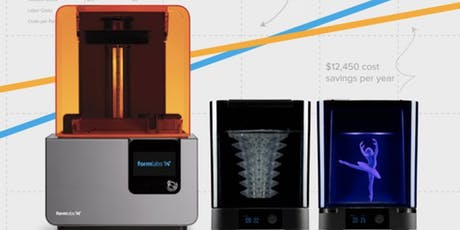 Basic Use and Safety: FormLabs Form 2 Resin 3D Printer tickets