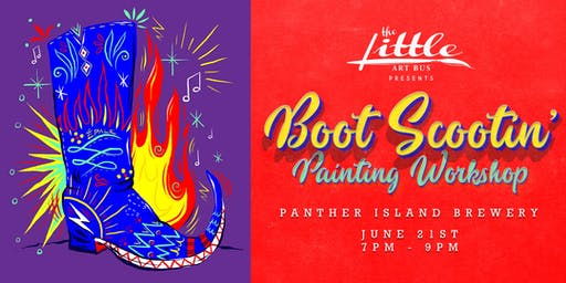 Boot Scootin Painting Workshop
