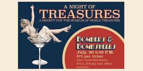 Night of Treasures Gala - Bombers and Bombshells tickets