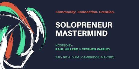Solopreneur Mastermind Meetup tickets