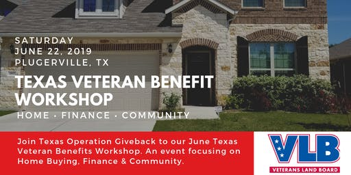 Veteran & First Time Home Buyers Workshop