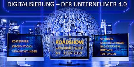 Digitalisierung - Der Unternehmer 4.0 - Chance oder Fluch? - Donaueschingen (BW) Tickets