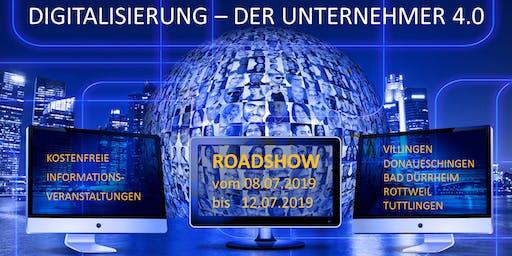 Digitalisierung - Der Unternehmer 4.0 - Chance oder Fluch? - Donaueschingen (BW)