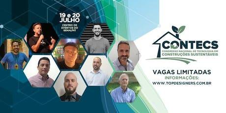 II Congresso Nacional de Tecnologia em Construções Sustentáveis ingressos