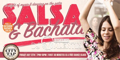 Salsa & Bachata on the Patio tickets
