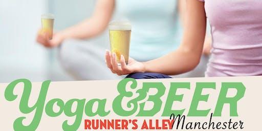 Yoga and Beer with Yoga Balance