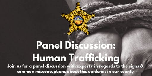 FCSO Panel Discussion: Human Trafficking