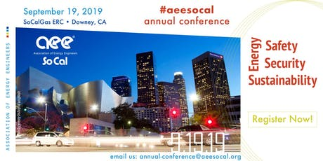 Aee So Cal 2019 Annual Conference Sponsor and Exhibitor Option tickets