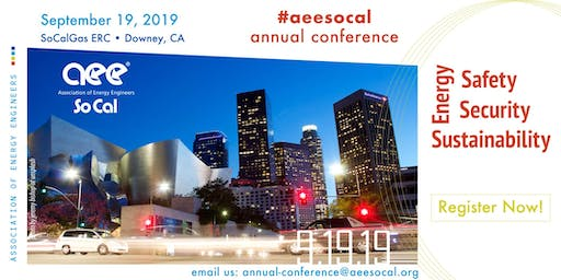 Aee So Cal 2019 Annual Conference Sponsor and Exhibitor Option