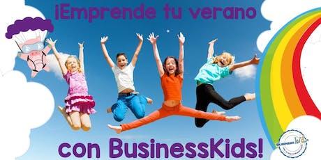 Clase muestra - Curso de verano BusinessKids Del Valle-Narvarte boletos