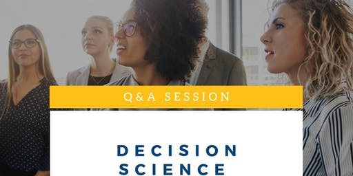 Q&A Session on Decision Science Applications in Business