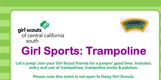Girl Sports: Trampoline - Tulare