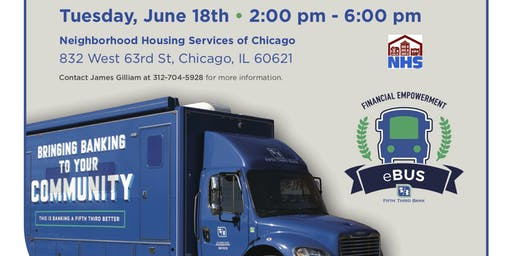 5th/3rd Bank Financial Empowerment Bus (eBus) in Englewood
