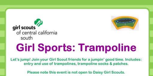 Girl Sports: Trampoline -  Kern County