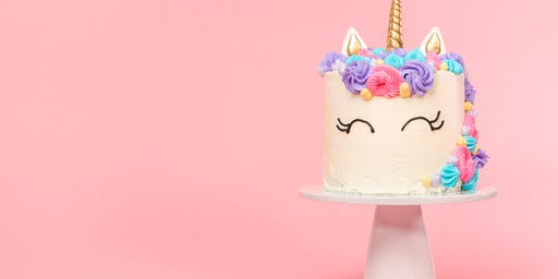 "Unicorn Cake Decorating Class at ""O"" Street Hy-Vee"