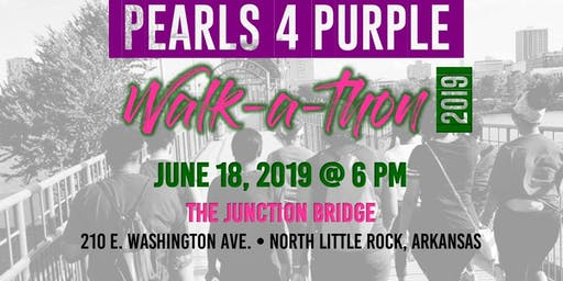 #Pearls4Purple Alzheimer's and Lupus Walk-a-thon  Association #TheLongestDay fundraiser, caregivers, and Alzheimer's disease and lupus awareness!