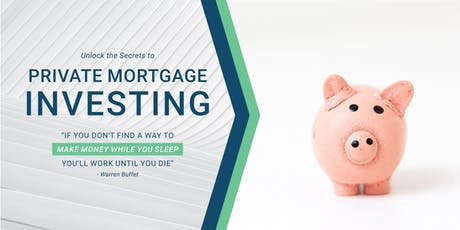 Earn 8-10% with Private Mortgage Investing tickets
