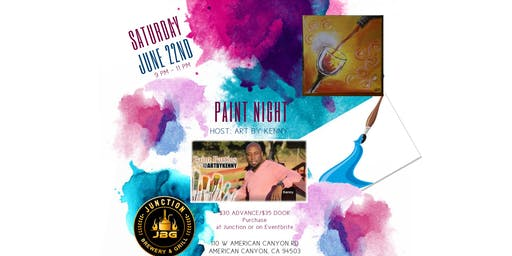 Paint Night @ Junction Brewery & Grill