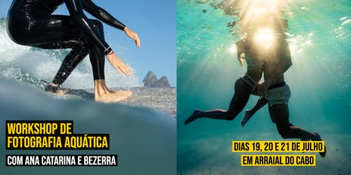 4º WS de Foto Aquática - Ana Catarina e Bezerra - Em Arraial do Cabo