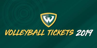 2019 Wayne State Volleyball Individual Game Tickets