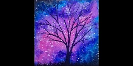 Open BYOB Sip and Paint Art - Galaxy tickets